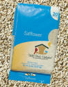 Safflower Seed and Bag
